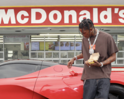 Travis Scott Reportedly Hit With A Fine After More Than 200 People Gathered At A California McDonald's To Try His Cactus Jack Meal