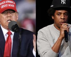 President Trump Criticizes Jay-Z Again for Cursing at Hillary Clinton Rally
